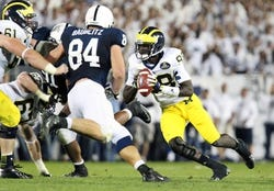 Michigan Wolverines vs. Penn State Nittany Lions - 10/11/14 CFB Pick, Odds, Prediction