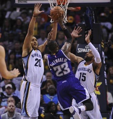 Sacramento Kings at Memphis Grizzlies