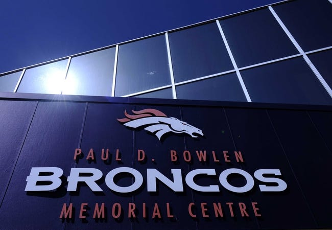 April 26 2013; Englewood, CO, USA; A general view outside of the Broncos headquarters. Mandatory Credit: Ron Chenoy-USA TODAY Sports