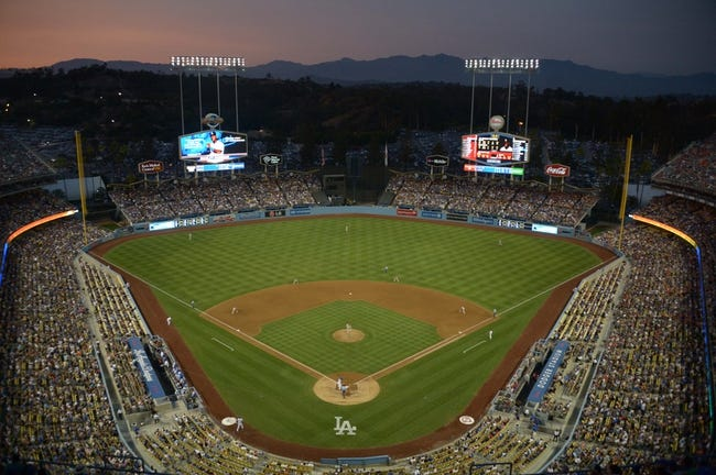 Jun 29, 2013; Los Angeles, CA, USA; General view of the MLB game between the Philadelphia Phillies and the Los Angeles Dodgers at Dodger Stadium. Mandatory Credit: Kirby Lee-USA TODAY Sports