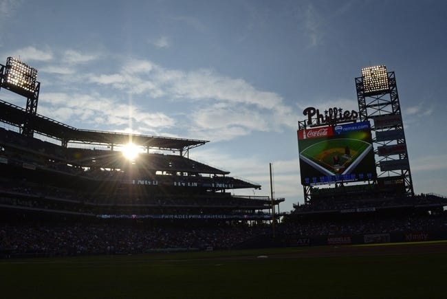 Jul 8, 2013; Philadelphia, PA, USA; Citizens Bank Park before the start of game between the Philadelphia Phillies and Washington Nationals. Mandatory Credit: Eric Hartline-USA TODAY Sports