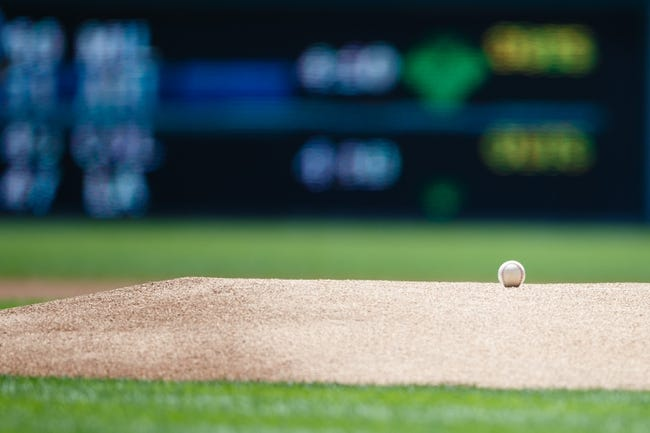 July 14, 2013; Detroit, MI, USA; Baseball on the mound before the game between the Detroit Tigers and the Texas Rangers at Comerica Park. Mandatory Credit: Rick Osentoski-USA TODAY Sports