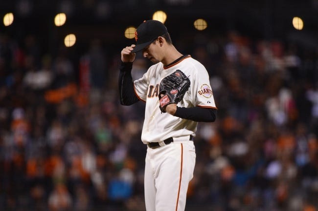 July 9, 2013; San Francisco, CA, USA; San Francisco Giants relief pitcher Jake Dunning (51) reacts during the eighth inning against the New York Mets at AT&T Park. The Mets defeated the Giants 10-6. Mandatory Credit: Kyle Terada-USA TODAY Sports