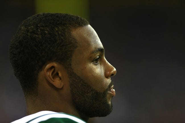 Aug 9, 2013; Detroit, MI, USA; New York Jets wide receiver Braylon Edwards (17) during a preseason game against the Detroit Lions at Ford Field. Mandatory Credit: Andrew Weber-USA TODAY Sports