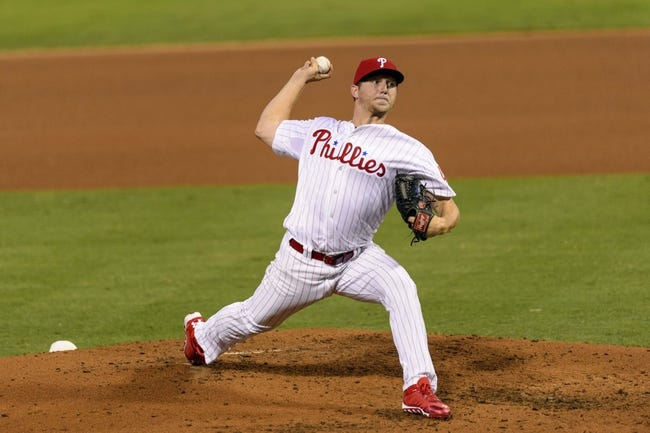 Aug 19, 2013; Philadelphia, PA, USA; Philadelphia Phillies pitcher Ethan Martin (49) delivers to the plate during the fourth inning against the Colorado Rockies at Citizens Bank Park. Mandatory Credit: Howard Smith-USA TODAY Sports