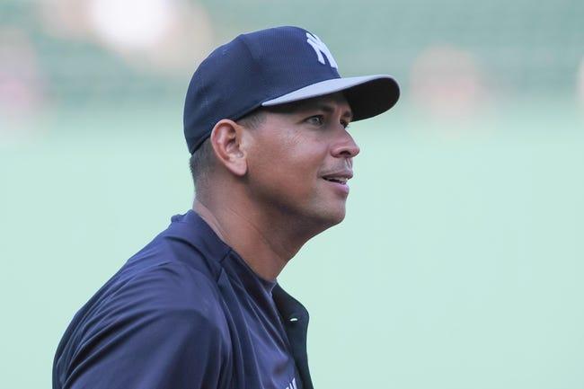 Aug 16, 2013; Boston, MA, USA; New York Yankees third baseman Alex Rodriguez (13) before the start of a game against the Boston Red Sox at Fenway Park. Mandatory Credit: Bob DeChiara-USA TODAY Sports