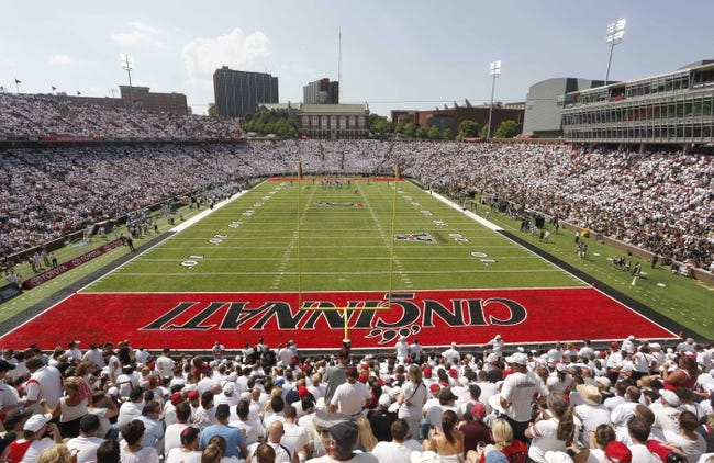 Aug 31, 2013; Cincinnati, OH, USA; A sold out crowd at Nippert Stadium during a game with the Purdue Boilermakers and the Cincinnati Bearcats. Mandatory Credit: David Kohl-USA TODAY Sports