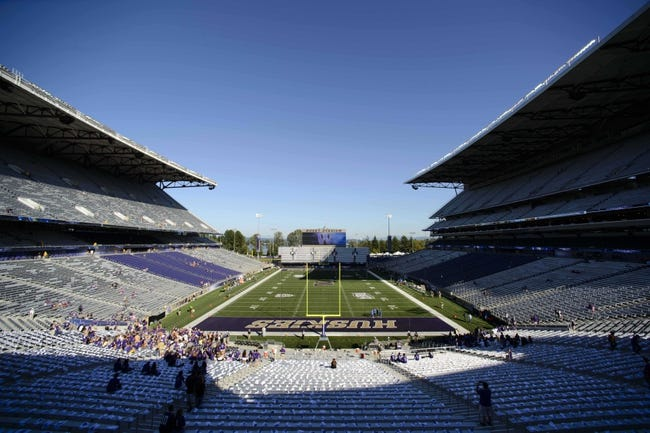 Aug 31, 2013; Seattle, WA, USA; General view of the newly renovated Husky Stadium prior to the game between the Washington Huskies and the Boise State Broncos. Washington defeated Boise State 38-6. Mandatory Credit: Steven Bisig-USA TODAY Sports