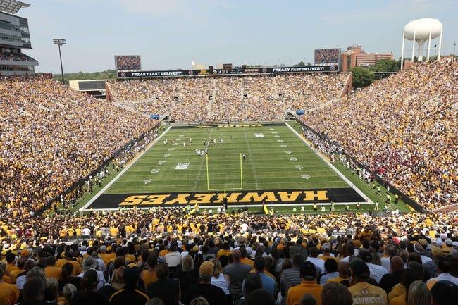 Sep 7, 2013; Iowa City, IA, USA; Iowa Hawkeyes Kinnick Stadium.  Iowa beat Missouri State 28-14.  Mandatory Credit: Reese Strickland-USA TODAY Sports