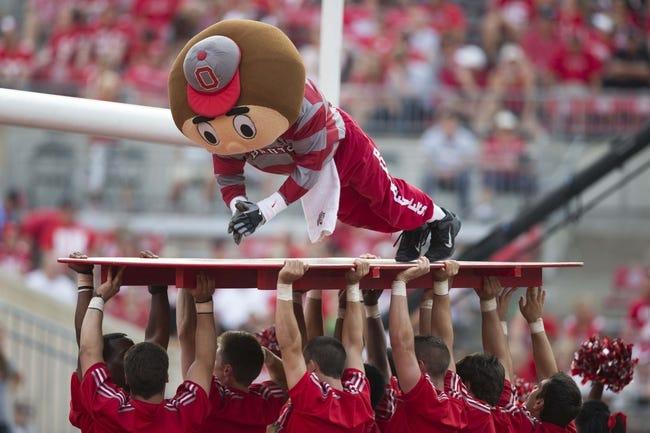 Sep 7, 2013; Columbus, OH, USA;  at Ohio Stadium. Ohio State won the game 42-7. Mandatory Credit: Greg Bartram-USA TODAY Sports