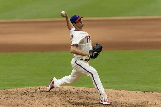 Sep 8, 2013; Philadelphia, PA, USA; Philadelphia Phillies pitcher Cole Hamels (35) delivers to the plate during the fifth inning against the Atlanta Braves at Citizens Bank Park. The Phillies defeated the Braves 3-2. Mandatory Credit: Howard Smith-USA TODAY Sports