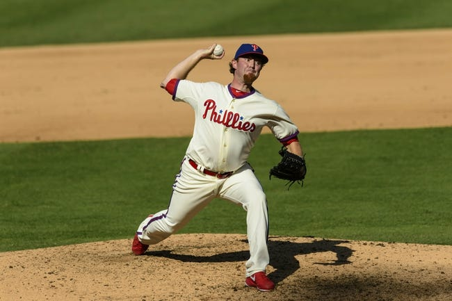 Sep 8, 2013; Philadelphia, PA, USA; Philadelphia Phillies pitcher B. J. Rosenberg (53) delivers to the plate during the ninth inning against the Atlanta Braves at Citizens Bank Park. The Phillies defeated the Braves 3-2. Mandatory Credit: Howard Smith-USA TODAY Sports