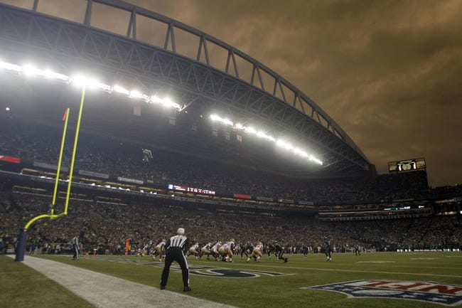 Sep 15, 2013; Seattle, WA, USA; A general view of CenturyLink Field during the second quarter between the Seattle Seahawks and San Francisco 49ers. Mandatory Credit: Joe Nicholson-USA TODAY Sports