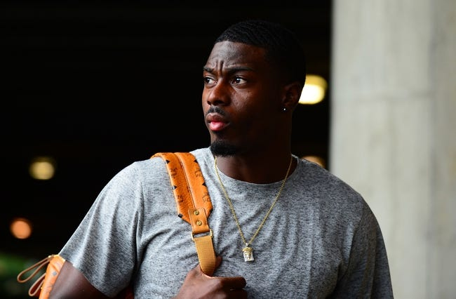 Sep 16, 2013; Cincinnati, OH, USA; Cincinnati Bengals wide receiver A.J. Green (18) prior to the game against the Pittsburgh Steelers at Paul Brown Stadium. Mandatory Credit: Andrew Weber-USA TODAY Sports