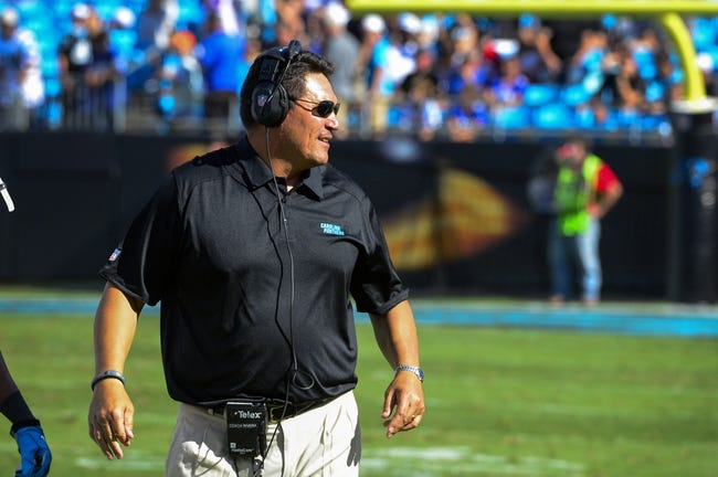 Sep 22, 2013; Charlotte, NC, USA; xxxx The Carolina Panthers defeated the New York Giants 38-0 at Bank of America Stadium. Mandatory Credit: Bob Donnan-USA TODAY Sports