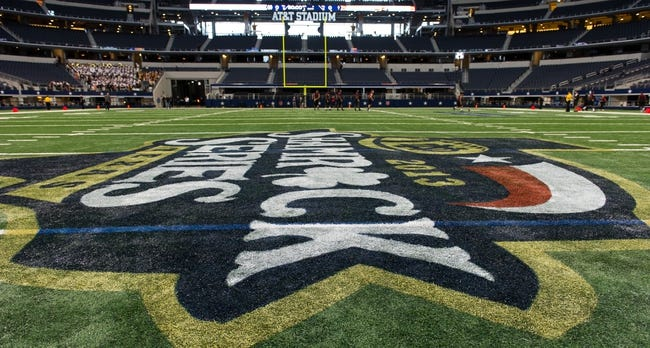 Oct 5, 2013; Arlington, TX, USA; A general view of AT&T Stadium before the game between the Notre Dame Fighting Irish and the Arizona State Sun Devils. Mandatory Credit: Matt Cashore-USA TODAY Sports