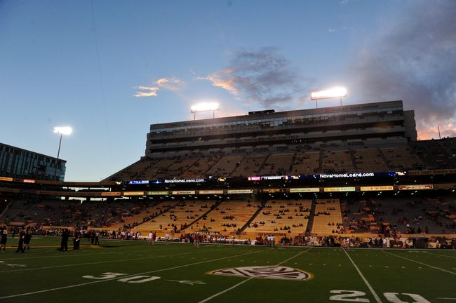 Sep 14, 2013; Tempe, AZ, USA; General view of Sun Devil Stadium prior to the game between the Arizona State Sun Devils and the Wisconsin Badgers. Mandatory Credit: Matt Kartozian-USA TODAY Sports