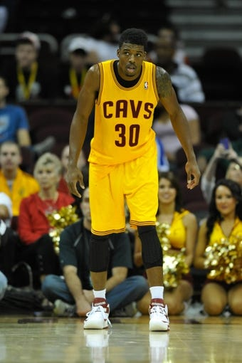 Oct 8, 2013; Cleveland Cavaliers shooting guard Carrick Felix (30) during a game against the Milwaukee Bucks at Quicken Loans Arena. Cleveland won 99-87. Mandatory Credit: David Richard-USA TODAY Sports