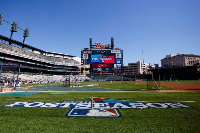 Oct 8, 2013; Detroit, MI, USA; General view before game four of the American League divisional series between the Detroit Tigers and the Oakland Athletics at Comerica Park. Mandatory Credit: Rick Osentoski-USA TODAY Sports