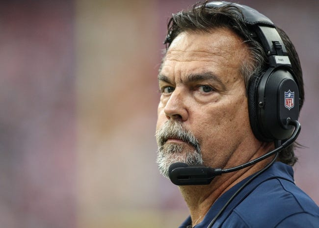 Oct 13, 2013; Houston, TX, USA; St. Louis Rams head coach Jeff Fisher watches from the sideline during the third quarter against the Houston Texans at Reliant Stadium. Mandatory Credit: Troy Taormina-USA TODAY Sports