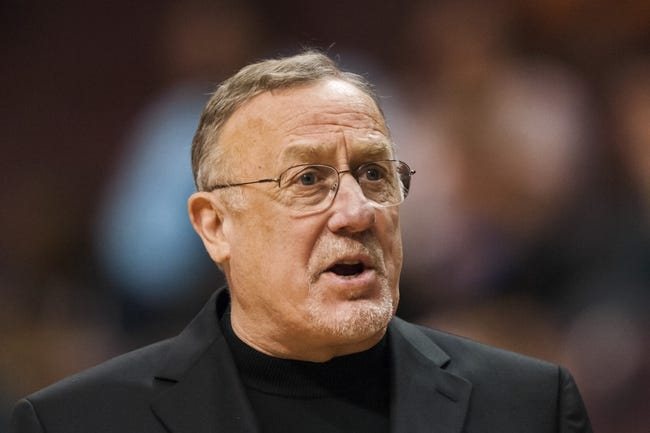 Oct 23, 2013; Philadelphia, PA, USA; Minnesota Timberwolves head coach Rick Adelman during the third quarter against the Philadelphia 76ers at Wells Fargo Center. The Timberwolves defeated the Sixers 125-102. Mandatory Credit: Howard Smith-USA TODAY Sports