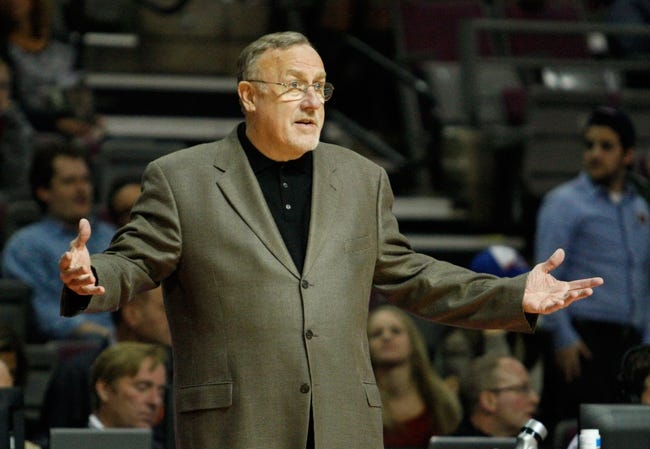 Oct 24, 2013; Auburn Hills, MI, USA; Minnesota Timberwolves head coach Rick Adelman during the fourth quarter against the Detroit Pistons at The Palace of Auburn Hills. Pistons beat the Timberwolves 99-98. Mandatory Credit: Raj Mehta-USA TODAY Sports