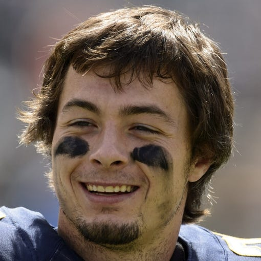 Sep 15, 2013; Philadelphia, PA, USA; San Diego Chargers running back Danny Woodhead (39) during warmups prior to playing the Philadelphia Eagles at Lincoln Financial Field. The Chargers defeated the Eagles 33-30. Mandatory Credit: Howard Smith-USA TODAY Sports