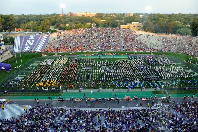 Sep 7, 2013; Evanston, IL, USA; An overall shot of Ryan Field during halftime of a game between the Northwestern Wildcats and the Syracuse Orange. Mandatory Credit: David Banks-USA TODAY Sports