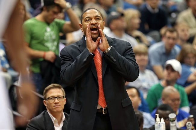 Nov 6, 2013; Minneapolis, MN, USA; Golden State Warriors head coach Mark Jackson yells out to one of his players in the second half against the Minnesota Timberwolves at Target Center. The Warriors won 106-93. Mandatory Credit: Jesse Johnson-USA TODAY Sports
