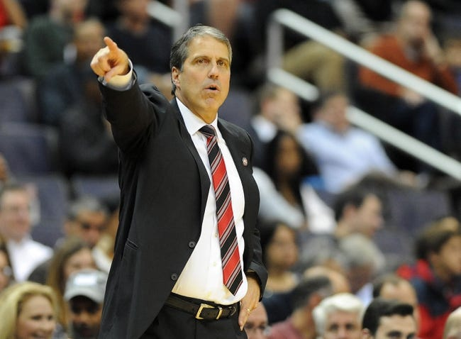 Nov 8, 2013; Washington, DC, USA; Washington Wizards head coach Randy Wittman gestures during the first half against the Brooklyn Nets at the Verizon Center. Mandatory Credit: Brad Mills-USA TODAY Sports