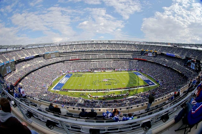 Nov 10, 2013; East Rutherford, NJ, USA;  General view of MetLife Stadium prior to game between the New York Giants and the Oakland Raiders. Mandatory Credit: Jim O'Connor-USA TODAY Sports