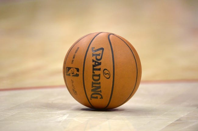 Nov 11, 2013; Los Angeles, CA, USA; General view of a NBA basketball during the game between the Minnesota Timberwolves and the Los Angeles Clippers at Staples Center. Mandatory Credit: Kirby Lee-USA TODAY Sports