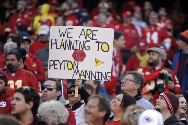 Dec 1, 2013; Kansas City, MO, USA; Kansas City Chiefs fans before the game against the Denver Broncos at Arrowhead Stadium. Denver won the game 35-28. Mandatory Credit: John Rieger-USA TODAY Sports
