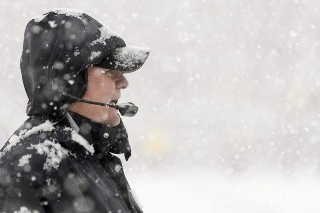 Dec 8, 2013; Philadelphia, PA, USA; Philadelphia Eagles head coach Chip Kelly along the sidelines prior to playing the Detroit Lions at Lincoln Financial Field. The Eagles defeated the Lions 34-20. Mandatory Credit: Howard Smith-USA TODAY Sports