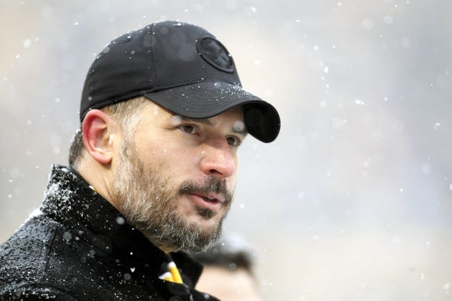 Dec 8, 2013; Pittsburgh, PA, USA; Motion picture actor Joe Manganiello looks on during player introductions as the Pittsburgh Steelers host the Miami Dolphins at Heinz Field. The Dolphins won 34-28. Mandatory Credit: Charles LeClaire-USA TODAY Sports