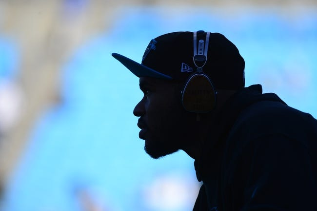 Dec 15, 2013; Charlotte, NC, USA; Carolina Panthers wide receiver Steve Smith (89) before the game at Bank of America Stadium. Mandatory Credit: Bob Donnan-USA TODAY Sports