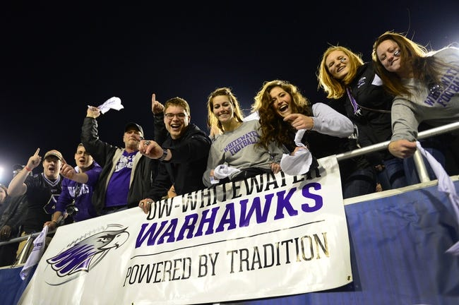 Dec 20, 2013; Salem, VA, USA; UW-Whitewater fans cheer in the second half. UW-Whitewater defeated Mount Union Purple Raiders 52-14 at Salem Stadium. Mandatory Credit: Bob Donnan-USA TODAY Sports