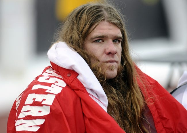 Dec 21, 2013; Cheney, WA, USA; Eastern Washington Eagles linebacker Ronnie Hamlin (39) looks on after a game again the Towson Tigers at Roos Field. The Tiger beat Eagles 35-31. Mandatory Credit: James Snook-USA TODAY Sports
