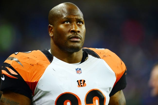 Oct 20, 2013; Detroit, MI, USA; Cincinnati Bengals outside linebacker James Harrison (92) during the game against the Detroit Lions at Ford Field. Mandatory Credit: Andrew Weber-USA TODAY Sports