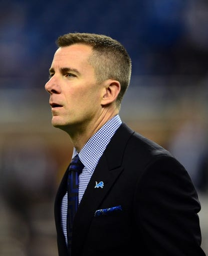 Oct 27, 2013; Detroit, MI, USA; Detroit Lions president Tom Lewand during the game against the Dallas Cowboys at Ford Field. Mandatory Credit: Andrew Weber-USA TODAY Sports