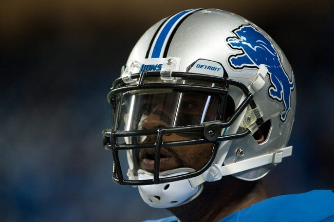 Dec 16, 2013; Detroit, MI, USA; Detroit Lions wide receiver Calvin Johnson (81) before the game against the Baltimore Ravens at Ford Field. Mandatory Credit: Tim Fuller-USA TODAY Sports