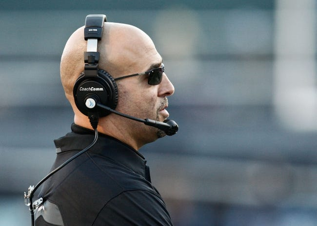 Jan 4, 2014; Birmingham, AL, USA;  Vanderbilt Commodores Coach James Franklin during the 2014 Compass Bowl at Legion Field. The Commodores defeated the Cougars 41-24. Mandatory Credit: Marvin Gentry-USA TODAY Sports
