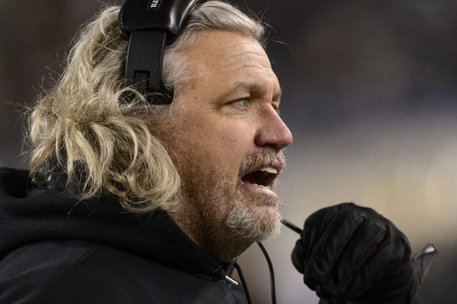 Jan 4, 2014; Philadelphia, PA, USA; New Orleans Saints defensive coordinator Rob Ryan along the sidelines during the first quarter against the Philadelphia Eagles during the 2013 NFC wild card playoff football game at Lincoln Financial Field. The Saints defeated the Eagles 26-24. Mandatory Credit: Howard Smith-USA TODAY Sports