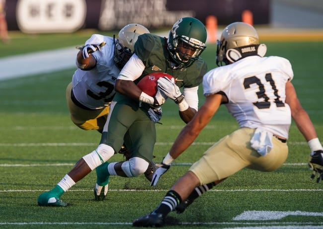 Aug 31, 2013; Waco, TX, USA; Baylor Bears wide receiver Tevin Reese (16) during the game against the Wofford Terriers at Floyd Casey Stadium. The Bears defeated the Terriers 69-3. Mandatory Credit: Jerome Miron-USA TODAY Sports
