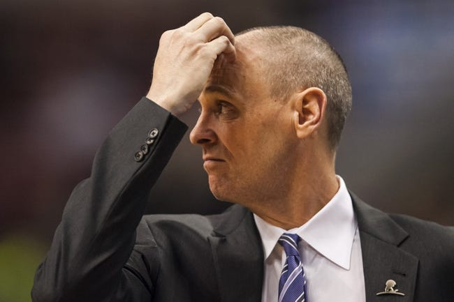 Feb 21, 2014; Philadelphia, PA, USA; Dallas Mavericks head coach  Rick Carlisle during the fourth quarter against the Philadelphia 76ers at the Wells Fargo Center. The Mavericks defeated the Sixers 124-112. Mandatory Credit: Howard Smith-USA TODAY Sports