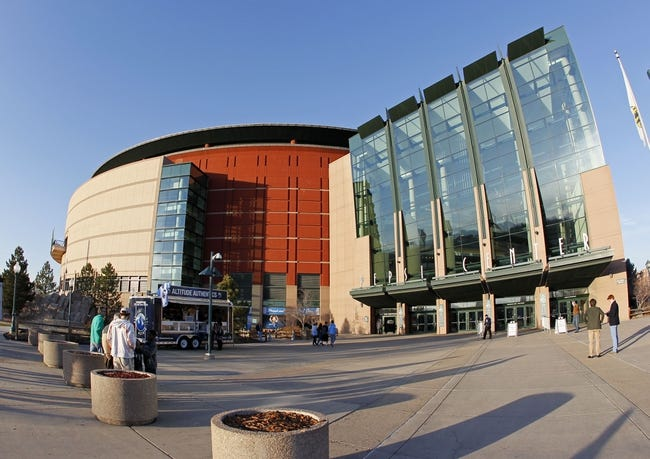 Mar 5, 2014; Denver, CO, USA;  A general view of the Pepsi Center before the start of the game between the Dallas Mavericks and the Denver Nuggets. Mandatory Credit: Isaiah J. Downing-USA TODAY Sports