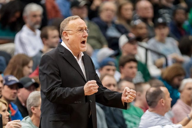 Mar 23, 2014; Minneapolis, MN, USA; Minnesota Timberwolves head coach Rick Adelman in the third quarter against the Phoenix Suns at Target Center. Phoenix wins 127-120. Mandatory Credit: Brad Rempel-USA TODAY Sports