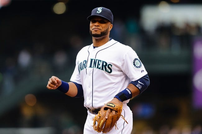 Apr 26, 2014; Seattle, WA, USA; Seattle Mariners second baseman Robinson Cano (22) during the game against the Texas Rangers at Safeco Field. Texas defeated Seattle 6-3. Mandatory Credit: Steven Bisig-USA TODAY Sports