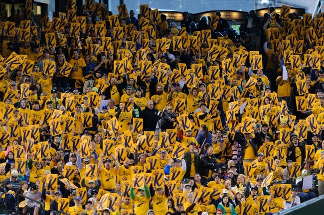 Apr 26, 2014; Seattle, WA, USA; The King's Court during the game between the Seattle Mariners and the Texas Rangers at Safeco Field. Texas defeated Seattle 6-3. Mandatory Credit: Steven Bisig-USA TODAY Sports
