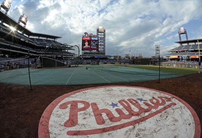May 3, 2014; Philadelphia, PA, USA; A general view of Citizens Bank Park before game between the Philadelphia Phillies and Washington Nationals at Citizens Bank Park. Mandatory Credit: Eric Hartline-USA TODAY Sports